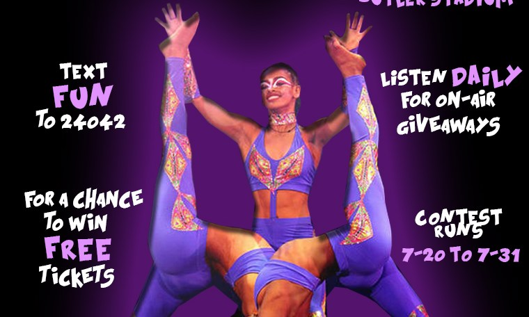UniverSoul Circus Text-To-Win Sweepstakes