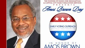 Amos Brown Day Flyer