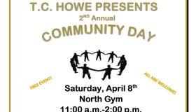 T.C. Howe Community Day Flyer