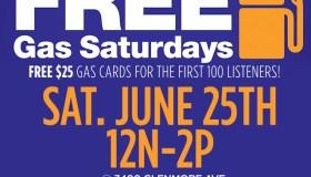 Metro PCS Free Gas Saturday's