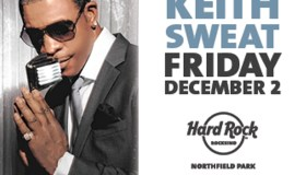 Keith Sweat at Hard Rock