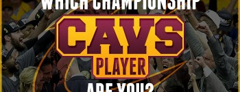 Cavs Championship Player