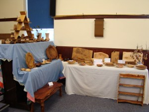 Roni Roberts stand at Ceredigion Craft Makers Fair.