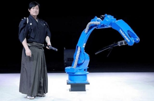 Samurái VS Robot