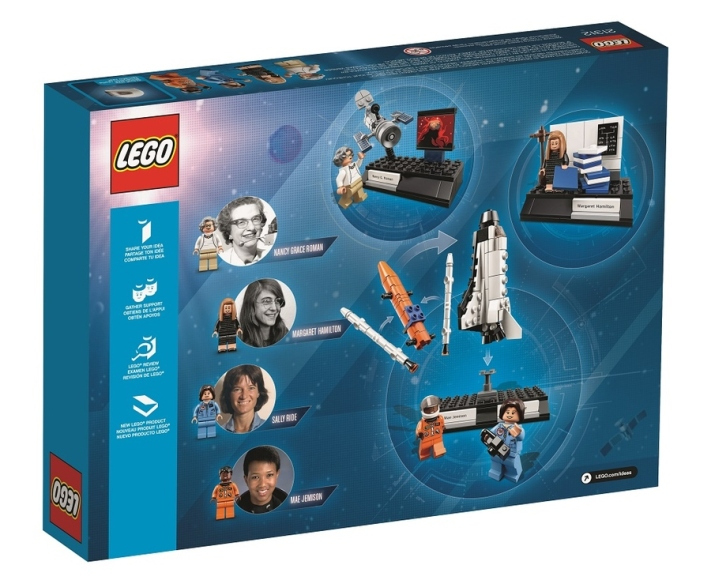 Set lego women of nasa