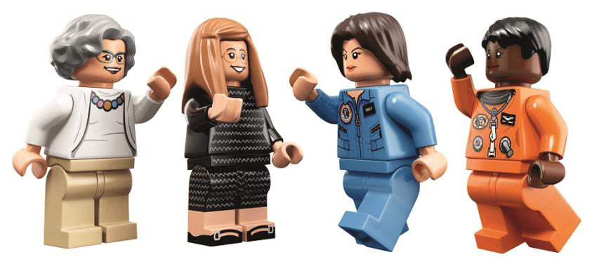Mujeres de la NASA LEGO