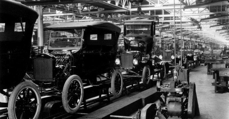 Cadena montaje Ford