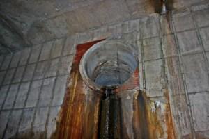 Drain inside of a drain