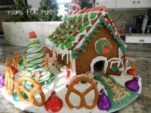 A Gingerbread House Tradition