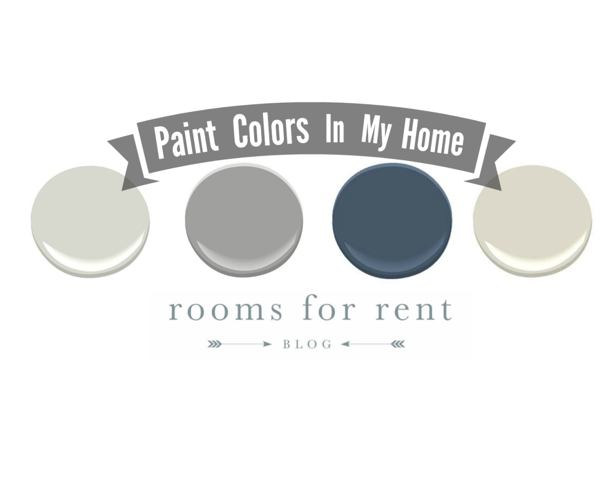 Paint Colors in Our House
