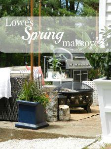 Lowes Spring Makeover