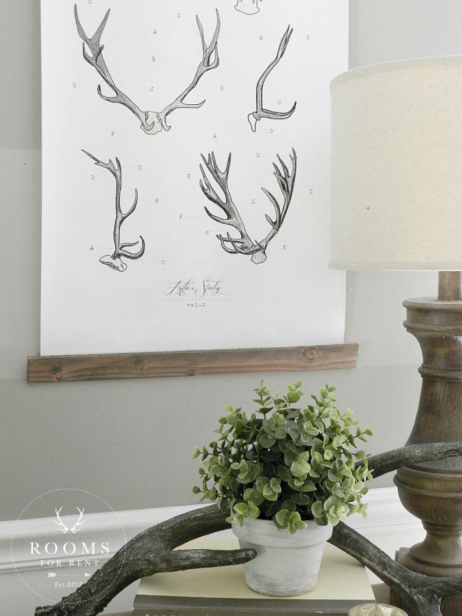 New Antler Art | Rooms FOR Rent Blog