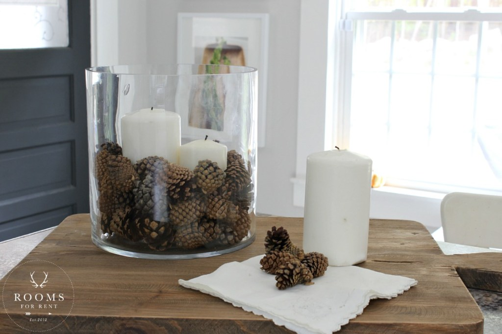 10 Minute Decorating : Easy Fall Vase Filler - 3 Ways | Rooms FOR Rent Blog