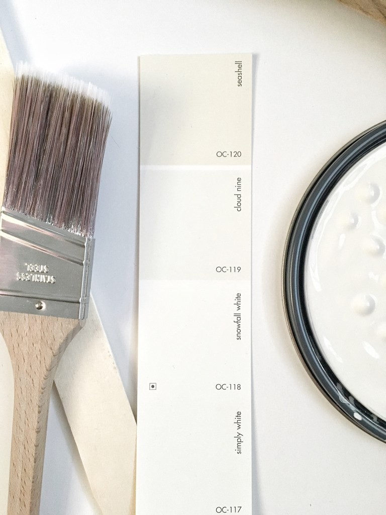 "When white paint doesn't show up the way you were hoping it would. ""White paint Fail 
