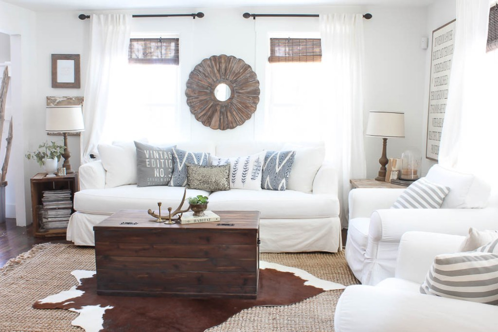 Layered Rugs, Farmhouse Style | Rooms FOR Rent Blog
