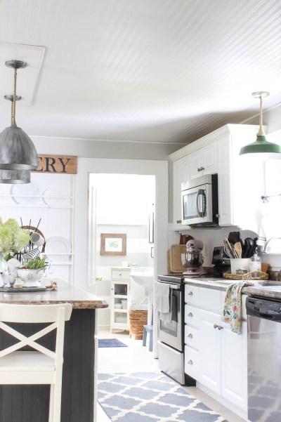 Kitchen Ceiling Wallpaper REVEALED - Rooms For Rent blog