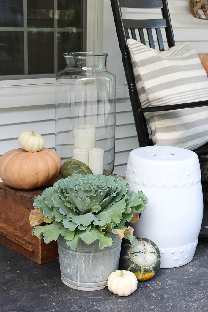 Fall Farmhouse Porch | Rooms FOR Rent Blog