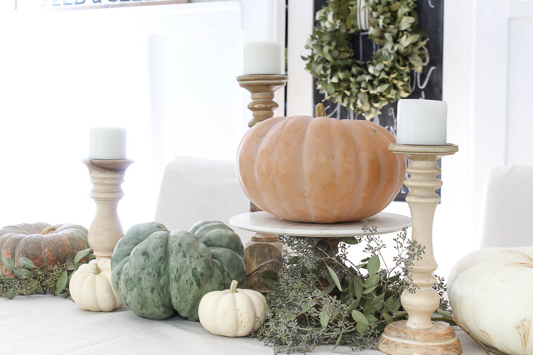 Simple Fall Tablescape | Rooms For Rent Blog