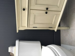 DIY Chalk Painted Cabinet