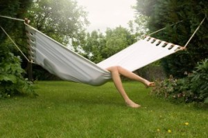 Nothing says relaxation like a little time in a hammock.