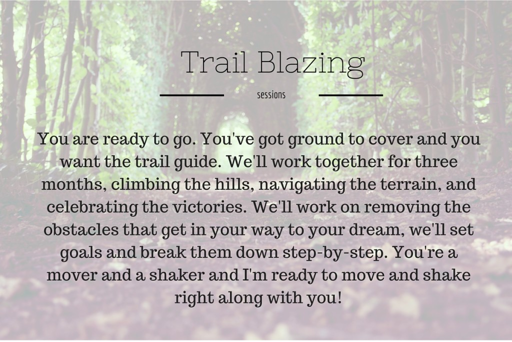 Trail Blazing graphic