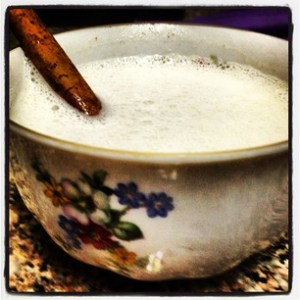 Hot Cashew Cinnamon Milk