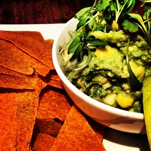 Guacamole with Chili-Lime Tortilla Chips