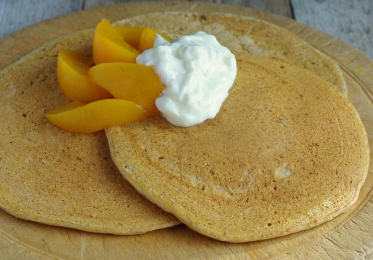 Ricotta Spelt Pancakes