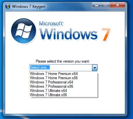 WINDOWS 7 KEY GENERATOR FULL DOWNLOAD 32/64 BIT