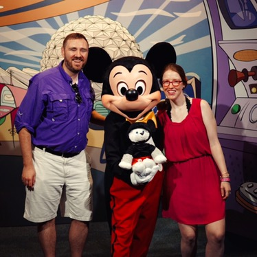 Always great to meet Mickey