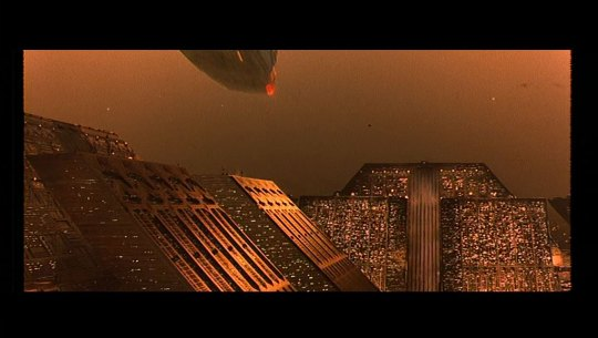 Tyrell Corporation Building, screenshot from Blade runner, 1982, dir. Ridley Scott