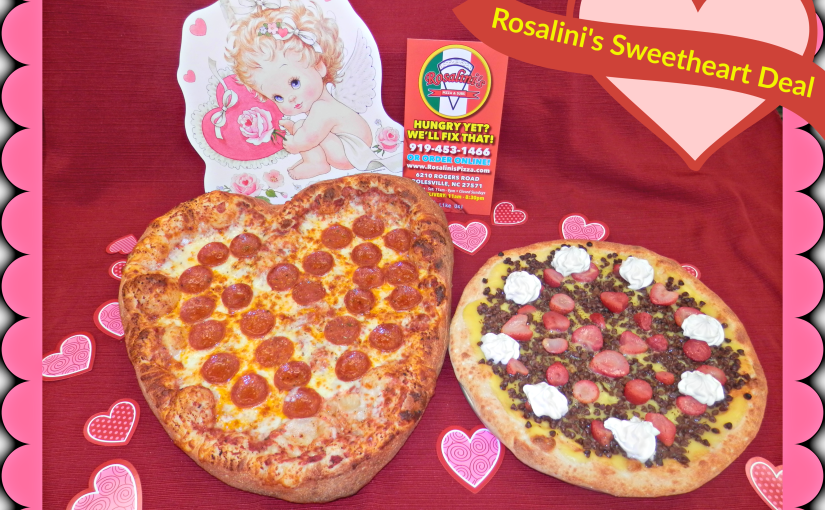 St. Val Day pizza combo