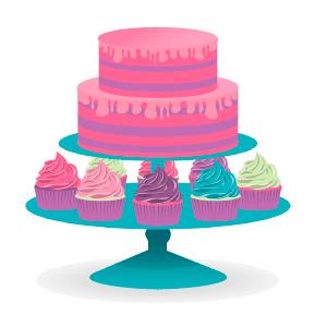 Messy Buttercream Ruffles Birthday Cake Bright Bold