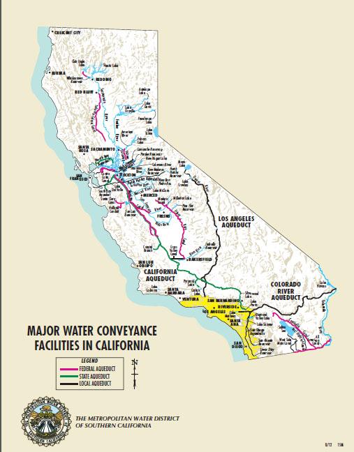 water conveyance facilities