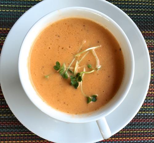 Tomato and Cauliflower Soup