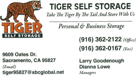 Tiger Storage » Tiger Storage