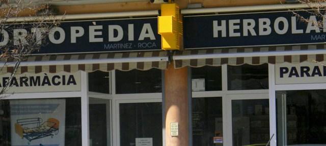 Ortopèdia-herbolari Martínez Roca