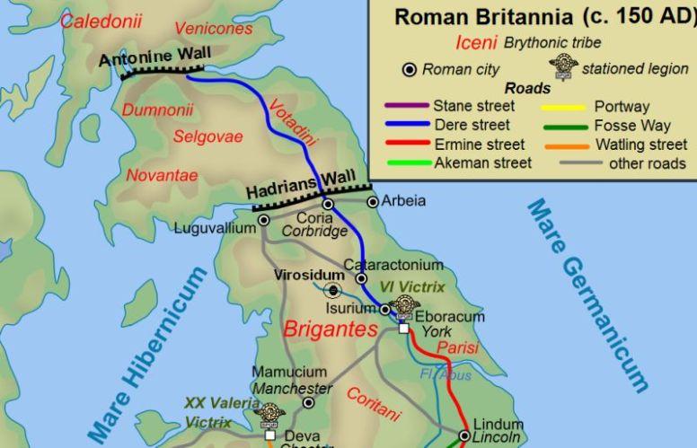 Antonine-wall-map