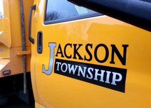Reflective Silver - Jackson Township Truck