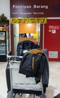 Tempat penitipan barang di bandara