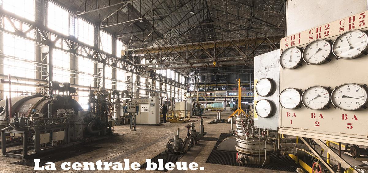La centrale bleue