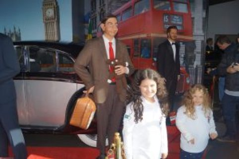 Mr. Bean também fez sucesso com as pequenas