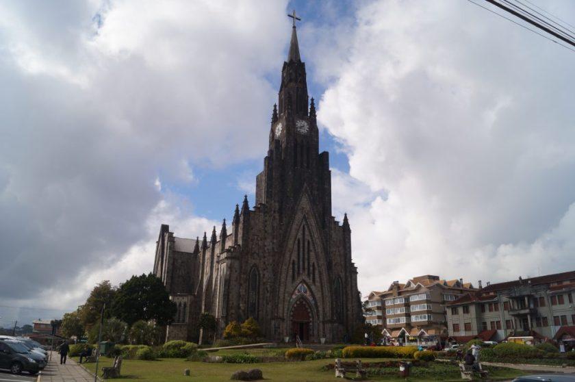 Imponente Catedral de Pedra