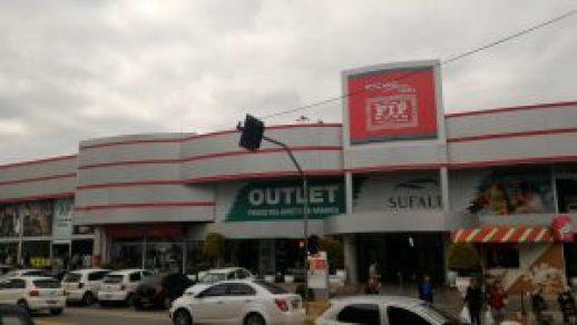 Um dos inúmeros Outlets