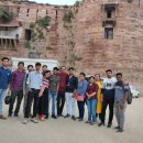 Rotaractors on a heritage tour