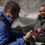 Grylls en Obama