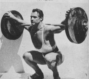 John Grimek and Squat