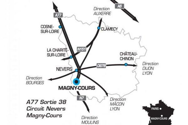ACCES MAGNY COURS