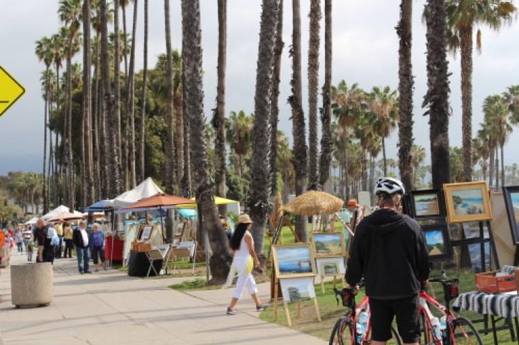 Santa Barbara art walk
