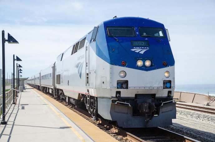 Trek Travel bike vacation review Amtrak pacific coastliner